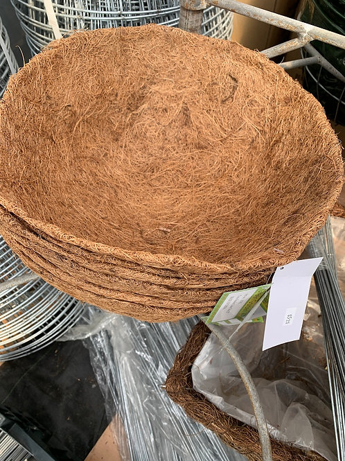 Coco Coir liner for 12-inch hanging basket