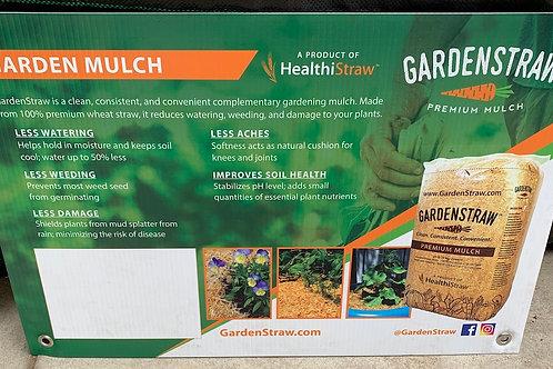 Garden Straw Premium Mulch
