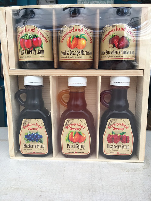 Summerland Sweets Jams and Syrups Gift Pack