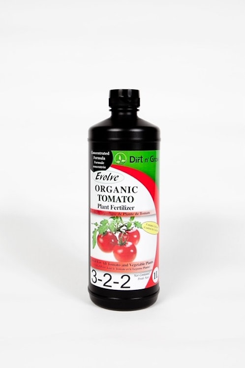 EVOLVE Organic Tomato 3-2-2 fertilizer