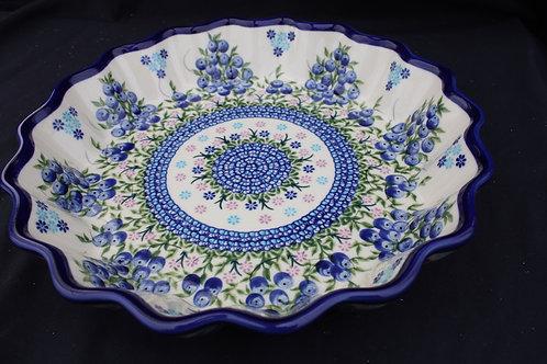 Polish Pottery - Quiche Baker