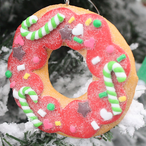 Decorated Donut ornament