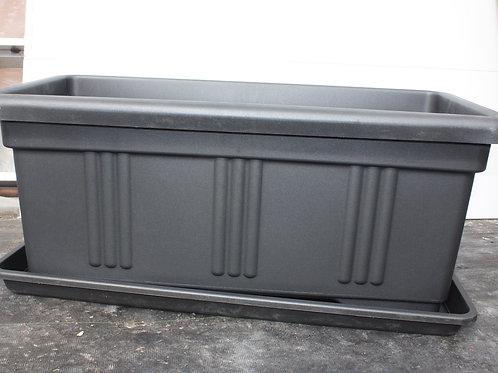 Deck Planter - Under Tray fits 42x16 inch planter