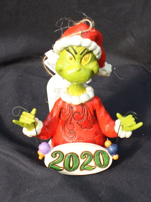 Grinch - 2020 tree ornament