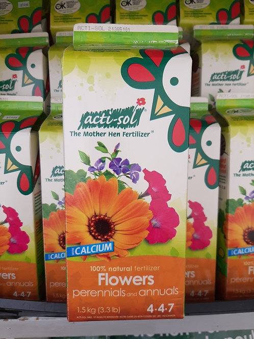Acti-Sol - Fertilizer for Perennial and Annual Flowers