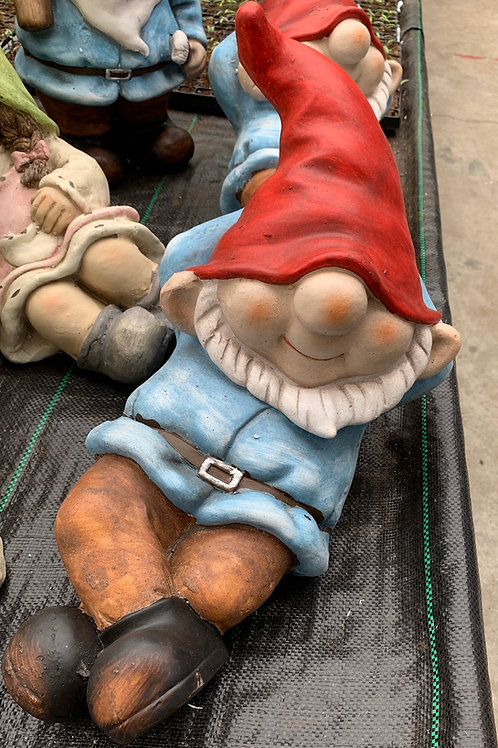 Garden Gnome Laid Back