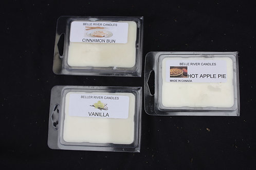 Scented Wax from Belle River Candles - pkg of 6
