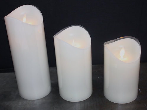 Simplex Flameless Candle - 3x5-inch