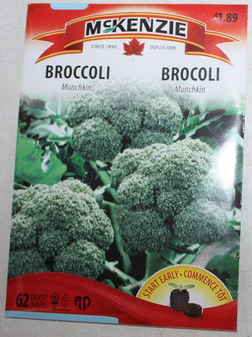 McKenzie Broccoli Munchkin Seeds