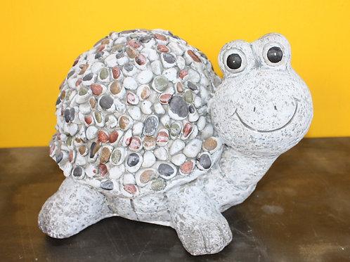 Cement Stone Turtle Lawn Ornament