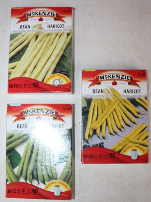 McKenzie Bean Seeds (Bush)