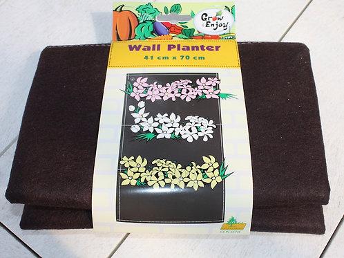 Fabric Wall Planter