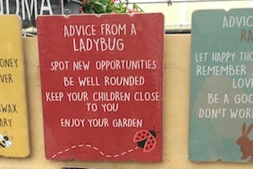 Advice signs