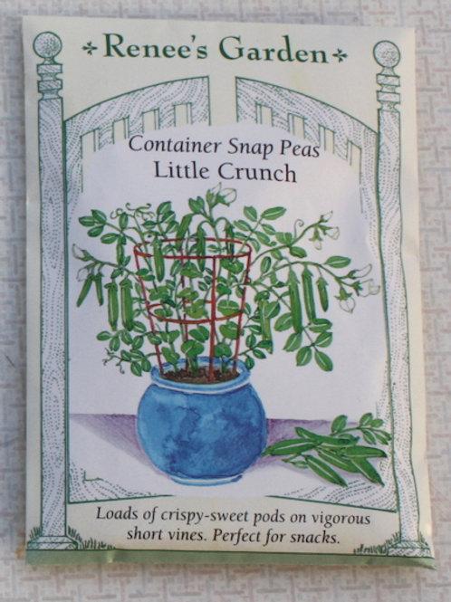Renee's Garden Snap Peas - Container - Little Crunch