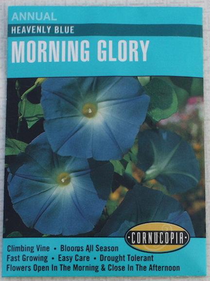 Cornucopia - Morning Glory - Heavenly Blue
