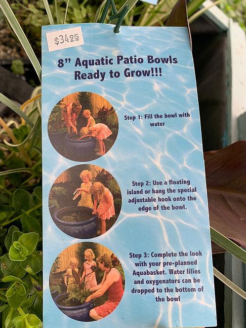 8-inch Aquatic Patio Bowl