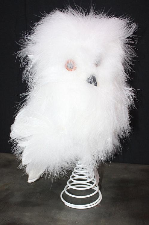 Snowy Owl Treetopper