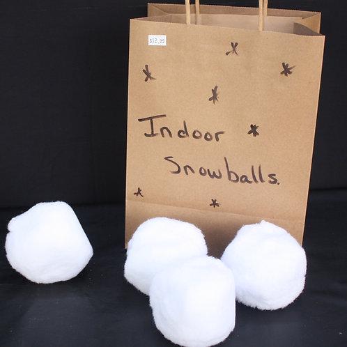Indoor Snowballs - bag of 10
