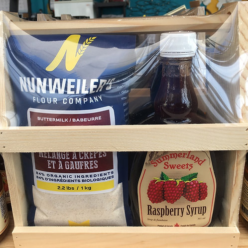 Summerland Sweets Pancake Mix and Syrups Gift Pack
