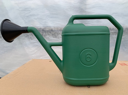 Watering can - 6-litre green