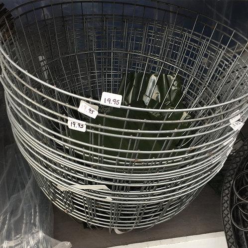 Wire hanging basket - 18-inch