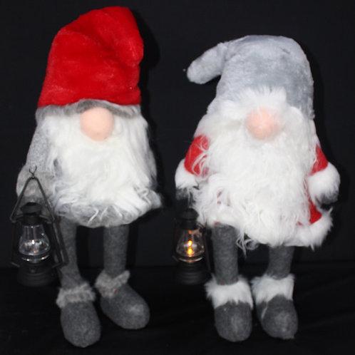 Gnomes with illuminated noses/LED lanterns