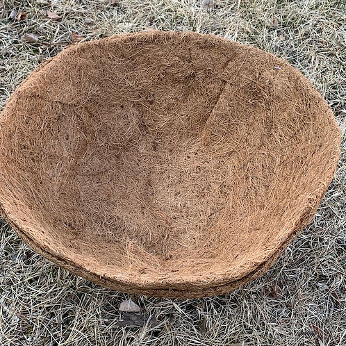 Coco coir liner for 16-inch hanging basket