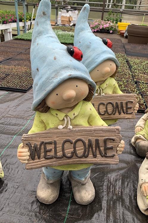 Garden Gnome - Welcome