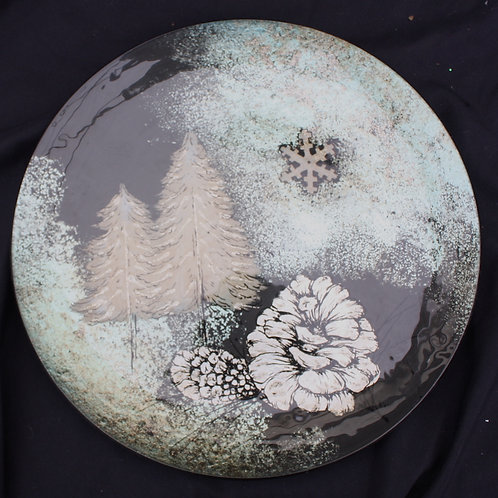 Round Plate - Festive Designs