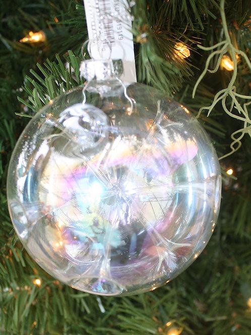 Iradescent Bubble ornament