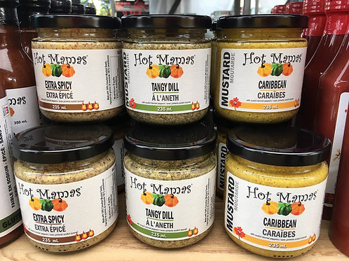 Hot Mamas Mustards