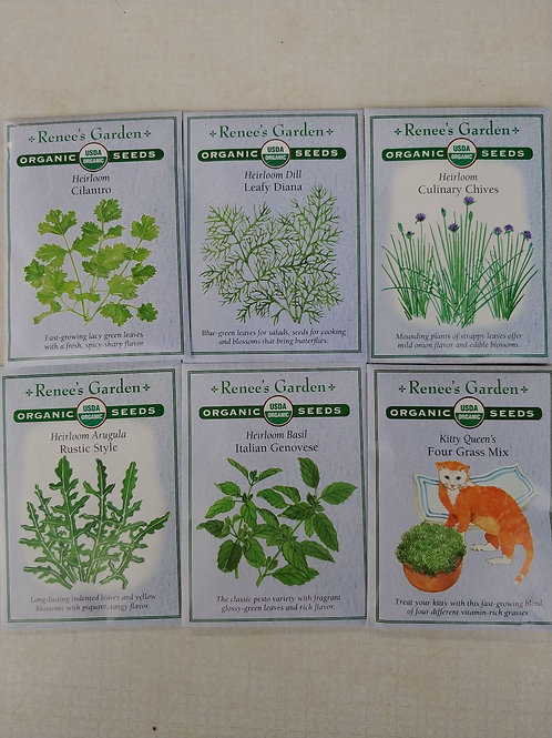 Renee's Garden Herb Seeds
