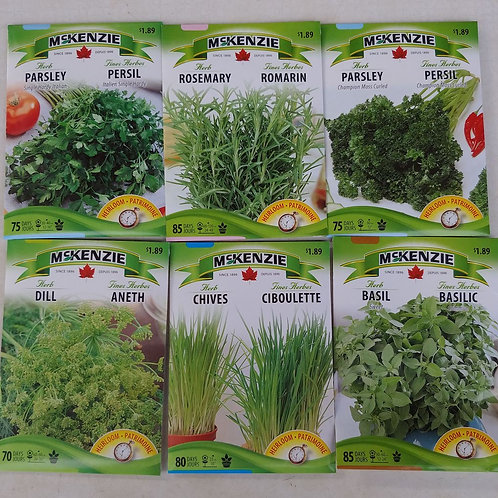 McKenzie Herb Seeds