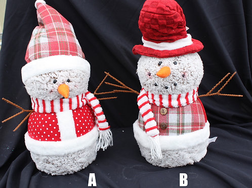 Plush Fun Snowmen