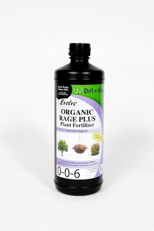 EVOLVE Organic Rage Plus 0-0-6 plant fertilizer