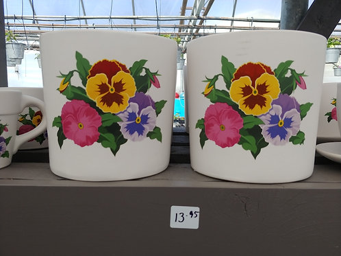 Pansy Pot Planter