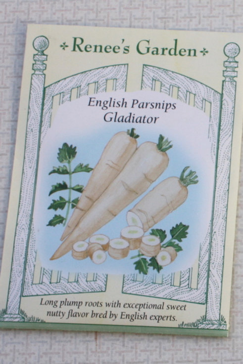 Renee's Garden Parsnips - English Gladiator