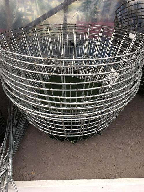 Wire hanging basket - 16-inch