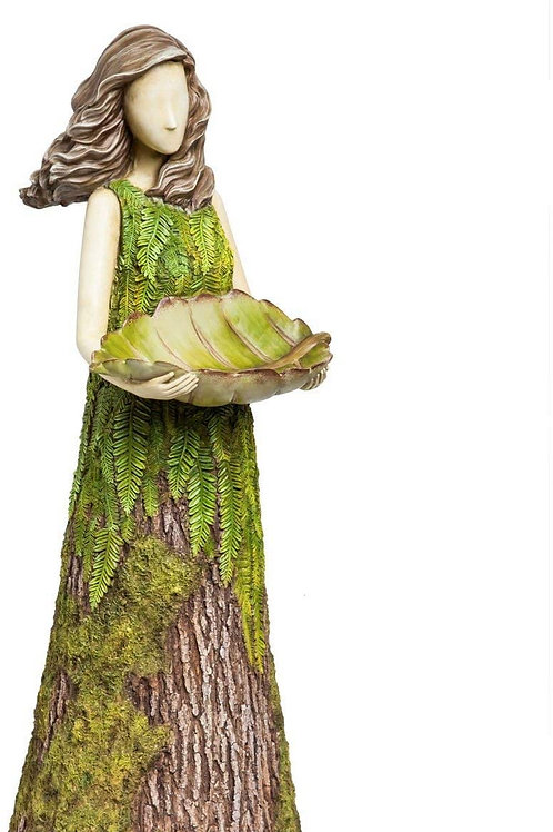 Sherwood 'Fern' Statuary with Bird Feeder