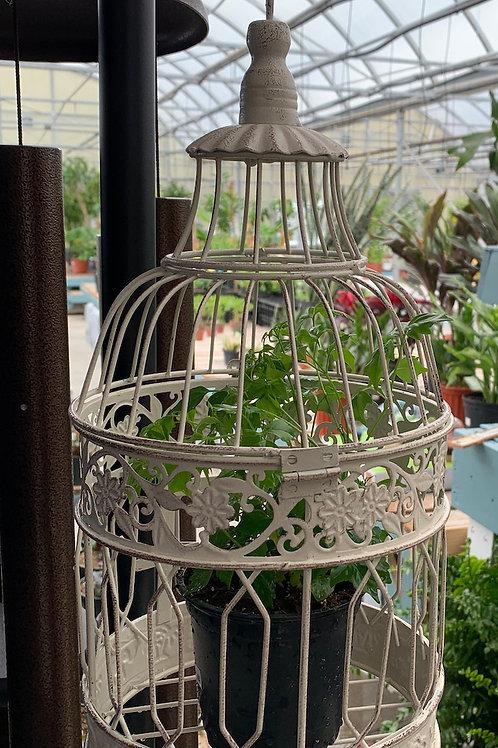 Metal Artwork Birdcage - Small