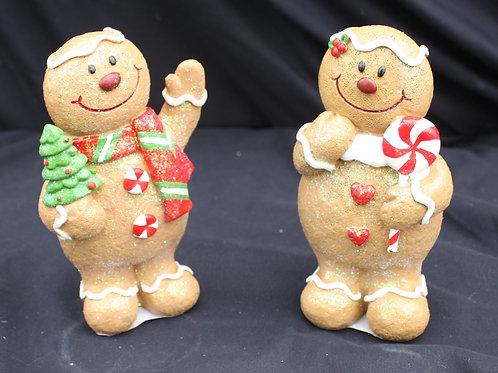 Gingerbread Men - resin