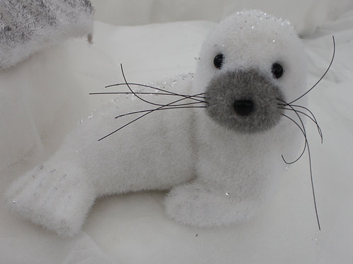 Seal with glitter - small