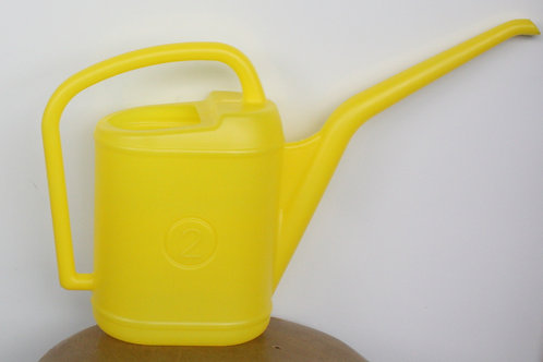 Watering can - 2-litre yellow