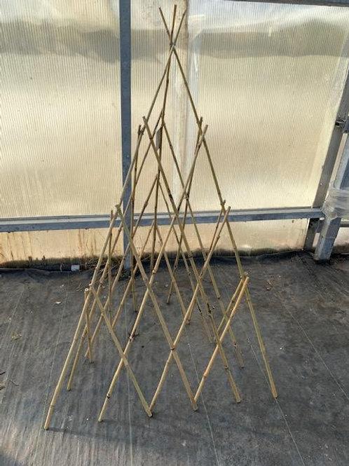 Bamboo Wigwam Trellis - 1.5-metre