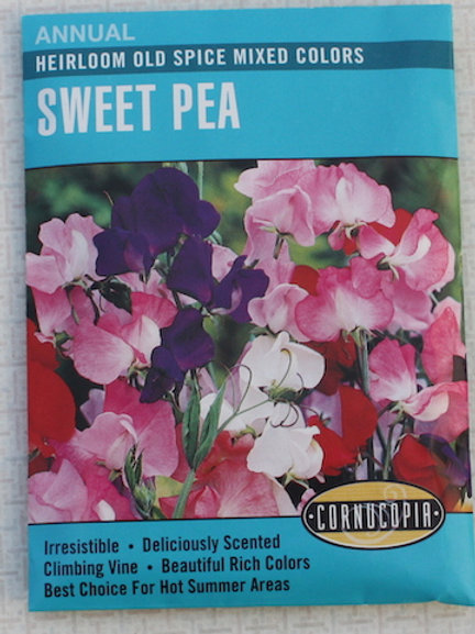 Cornucopia - Sweet Pea - Heirloom Old Spice Mixed Colors
