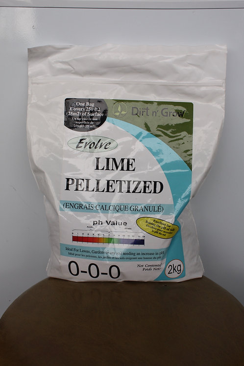 EVOLVE Organic Pelletized Lime