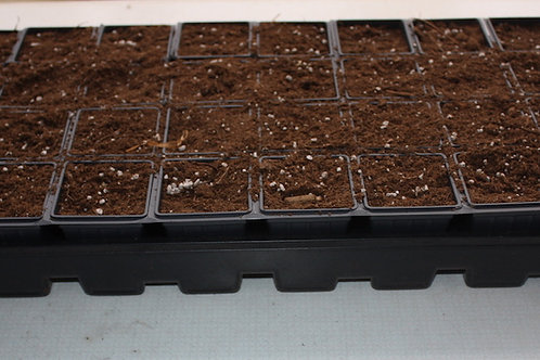 Seed Starter Tray with 32 cells includes soil