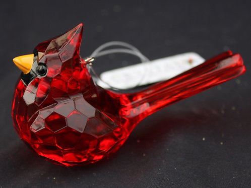 Crystal Expressions Cardinal ornament