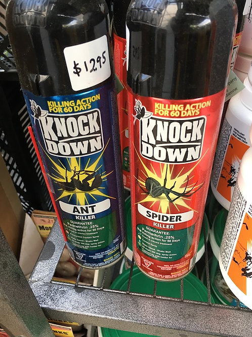Knock Down insecticide sprays