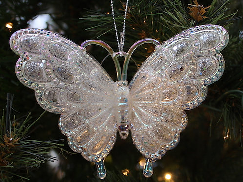 Sparkly Butterfly ornament